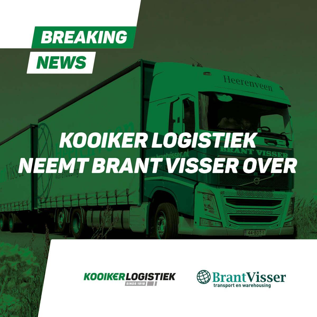 Overname Brant Visser